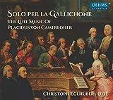 Solo per la Gallichone: The lute
