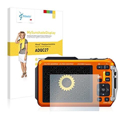 Vikuiti ADQC27 Displayschutz Schutzfolie Panasonic Lumix DMC-FT5 (Kristallklar und Reflexmindernd, Blasenfreie Montage, Passgenauer Zuschnitt)