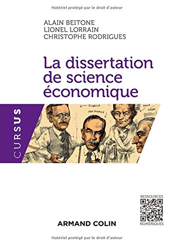 La dissertation de science conomique