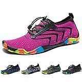 Yorgou Chaussures Aquatiques pour Homme Femme Chaussures d'eau Chaussures de Plage Chaussures de Yoga Plongée Surf Piscine...