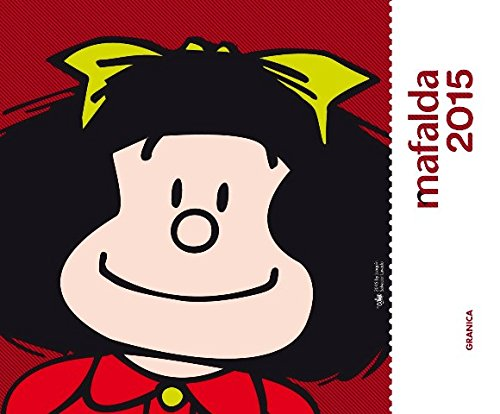 Mafalda 2015 Calendario de escritorio - Rojo (Spanish Edition)