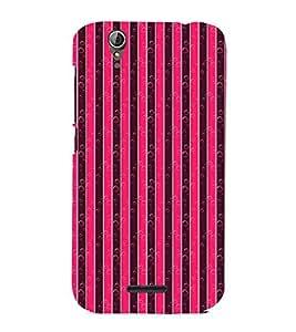 Vizagbeats Bubble Stripes Back Case Cover for ACER Z630