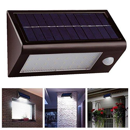 Solalite 400 Lumens 32 Led SMD àénergie solaire Rechargeable Pir Détecteur De Mouvements lampe sécurité