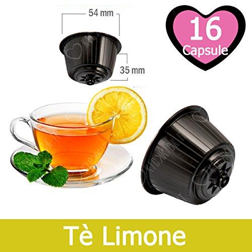 16 Capsulas Té de Limón Compatibles Nescafè Dolce Gusto - Café Kickkick
