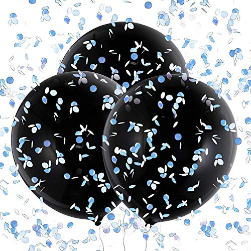 Saino Baby Ballon Latex Konfetti Luftballons Helium 36