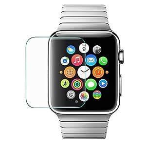 iprotect Screen Protector Tempered Glass Hartglas Schutzfolie für Apple Watch 42mm Display Schutzglas Glasfolie 0,3mm