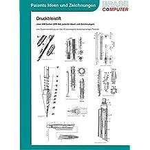 Druckbleistift, über 400 Seiten (DIN A4) patente Ideen und Zeichnungen
