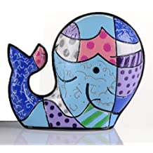 ROMERO BRITTO Mini Figur - Brendans Wal - Pop Art Kunst aus Miami