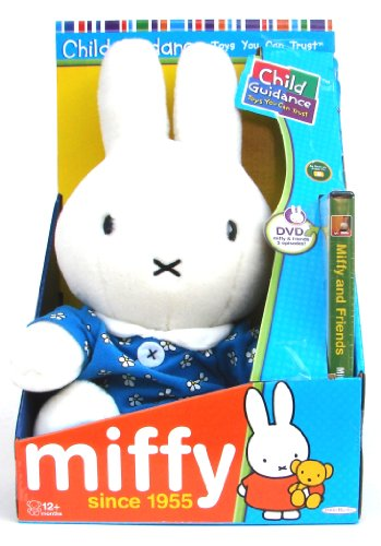 Miffy and Friends -  Plush and DVD Gift Set - 30cm 12""