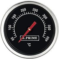 B. Prime Barbacoa–Termómetro analógico Classic–de temperatura pantalla de 50–400°c con 45mm de diámetro–40mm larga Sonda con 6mm de diámetro–bimetal Termómetro para barbacoas, AHUMADOR, freyzeit BBQ accesorios