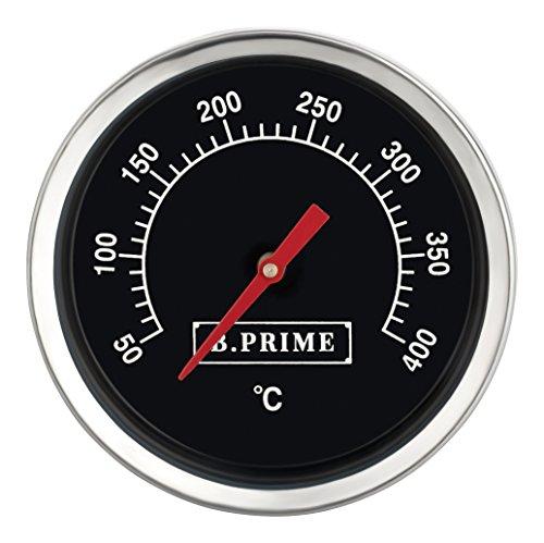Preisvergleich Produktbild B.PRIME Grill-Thermometer analog Classic – Temperatur-Anzeige von 50-400°C mit 45mm Durchmesser