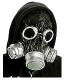 Zombie Gas Mask Noir