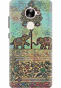 Noise Designer Printed Case / Cover for LeEco Le 2 / Nature / Elephant Design