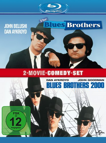 Blues Brothers/Blues Brothers 2000 [Blu-ray] - Universal 8 Mm, Vhs