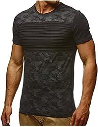 LuckyGirls Camisa Camisetas Originales Hombre Manga Cortos Verano Estampado de Mapa Moda Polos Deportivas Blusa Casuales Slim Remera…