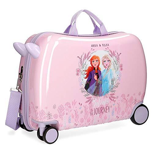 Valigia per bambini 2 ruote multidirezionali Frozen 2