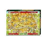 Heye- Puzzle Habitat Africano, 1000 Pezzi, Multicolore, 29639