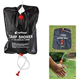 OFFER WORLD (Trusted) ® | | Portable Camping Hiking Outdoor Shower Bathing Water Bag 20 Litter | |
