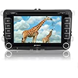 """Pumpkin 7"""" Pantalla Táctil Digital 1080P HD Android 5.1 Lollipop Reproductor de DVD Con GPS Navegador Para Coche Seat, Jetta, Golf, Passat, Polo, Skoda Series"""
