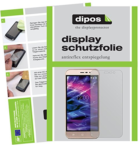 dipos I 6X Schutzfolie matt passend für Medion Life E5006 Folie Bildschirmschutzfolie