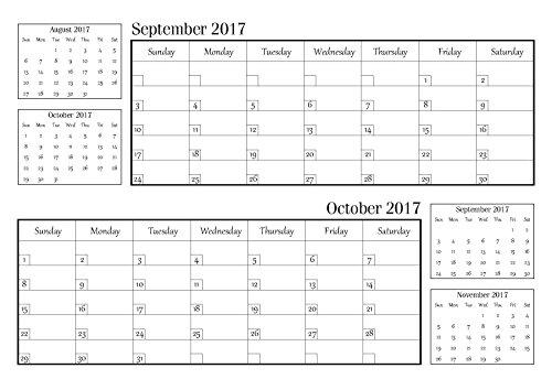 Calendario mensile famigliare 2018 pianificatore di for Capannone pianificatore di layout