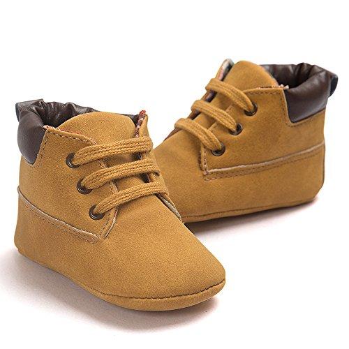 Zapatos del bebé, Zapato del Cabrito del niño de Cuero de la pequeña Muchacha Suave del niño 0-6...