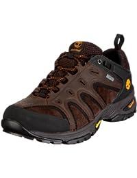 Timberland LEDGE LOW LTHR GTX DK BRN 57165 - Zapatillas de senderismo de cuero nobuck para hombre