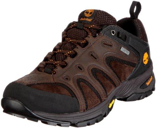 Timberland LEDGE LOW LTHR GTX 57165, Chaussures de randonnée homme Marron/brun foncé