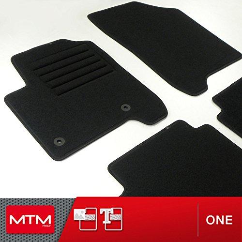 MTM Tapis de Sol C3 Picasso Depuis 2009- sur Mesure en Velours Noir, cod. One fr353