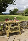 Zest4Leisure BBQ Side Table - Wood