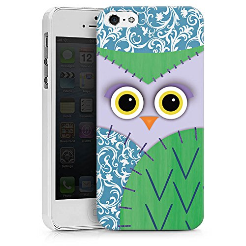 Apple iPhone X Silikon Hülle Case Schutzhülle Owl Eule Kinder Hard Case weiß