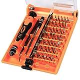 MoonLi 45 in 1 Multifunktions Schraubendreher Set Hardware Magnetische Schraubendreher Satz Reparatur Werkzeuge für Handy PC Multi Werkzeug Macbook Elektronik (45 in 1)