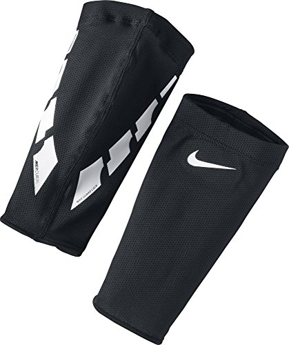 Nike Herren Sleeves Für Schienbeinschoner Guard Lock Elite, Black/White, M, SE0173-011