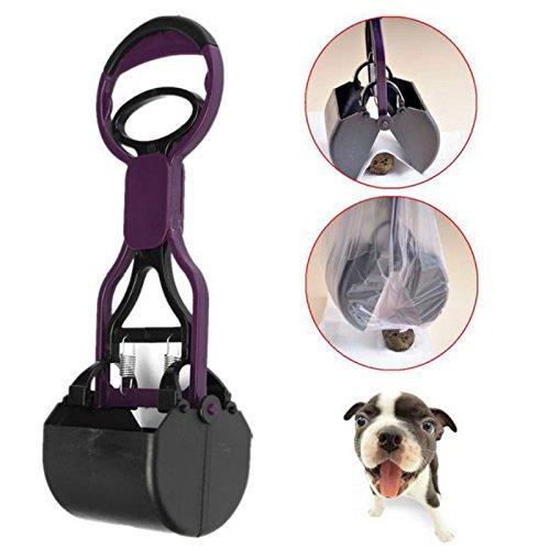 Nuevo fácil de limpiar Pickup Clip patrulla Pooper Scooper borde mascotas perro Patio limpiador hogar esencial mascotas suministro