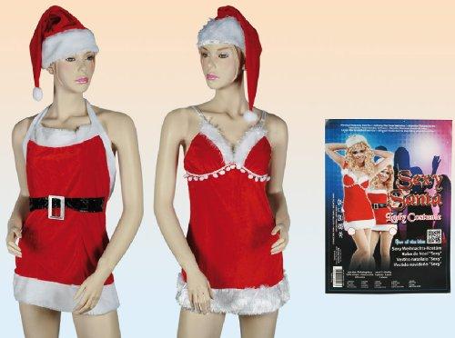 Weihnachten Idee: Kostüm - Sexy Mrs Claus - Santa Claus - Weihnachtsmann - für - Sexy Mrs Santa Kostüm