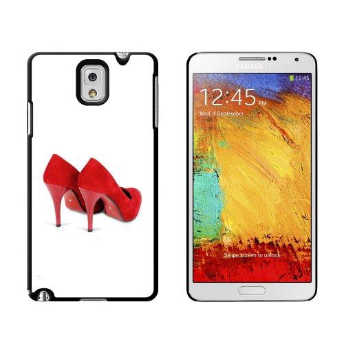 Sprint 2 Schuhe (Rot Schuhe Heels Pumpen–Snap on Hard Schutzhülle für Samsung Galaxy Note III 3)