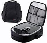 Navitech Protective Portable Projector Carrying Case and Travel Bag For The Epson EB-U05