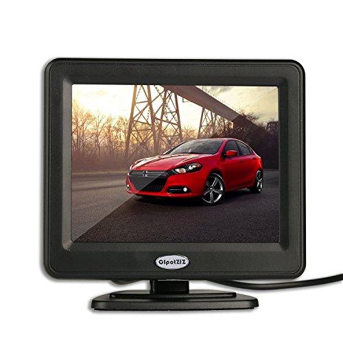 LCD-Monitor für das Auto, TFT-Farbbildschirm speziell für den Einsatz mit Rückfahrkameras, 8,9cm (3,5 Zoll), mit 2optionalen Halterungen