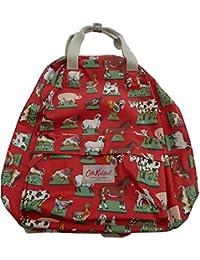Cath Kidston - Bolso mochila  para mujer rojo Red