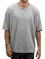 Sixth June Homme Hauts / Pullover Oversited Ultra Destroyed