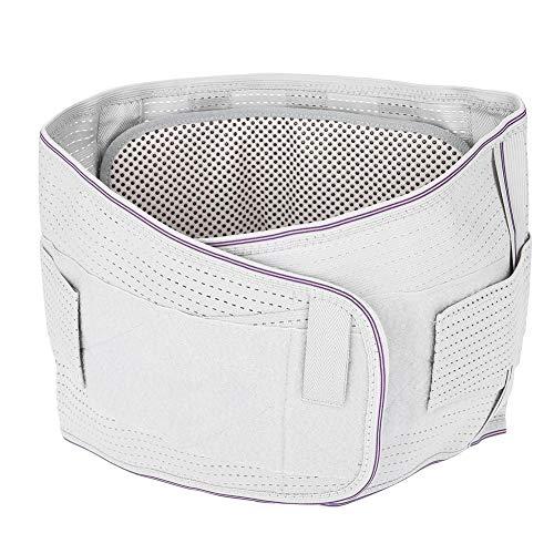 Taille Massage Gürtel, Turmalin selbsterhitzende Magnetfeldtherapie Selbstmassage Unterstützung hohe Taille Schutzgürtel zu entlasten Nacken Knieschmerzen und reduzieren Fett(L) (Taille Massage)