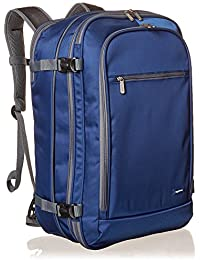AmazonBasics 46 Ltrs Carry-On Travel Backpack, Navy