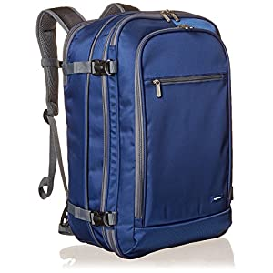 AmazonBasics – Mochila de equipaje de mano – Azul marino