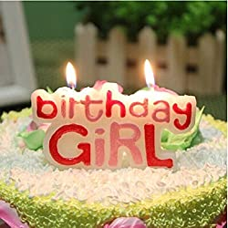 PARTY PROPZ BIRTHDAY GIRL CANDLE