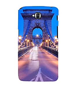 NIGHT VIEW OF BROOKLYN BRIDGE 3D Hard Polycarbonate Designer Back Case Cover for LG GPro Lite :: LG G Pro Lite Dual D686