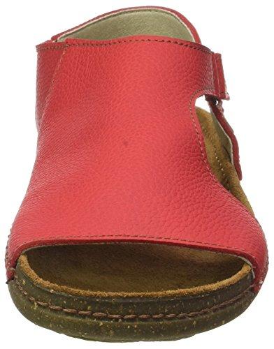 Inyectados Y Vulcanizadaos S.A Damen N309 Soft Grain Torcal Sandalen Rot (Grosella)