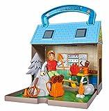 Simba 109251032 - Feuerwehrmann Sam Bergrettungszentrum mit 2 Figuren