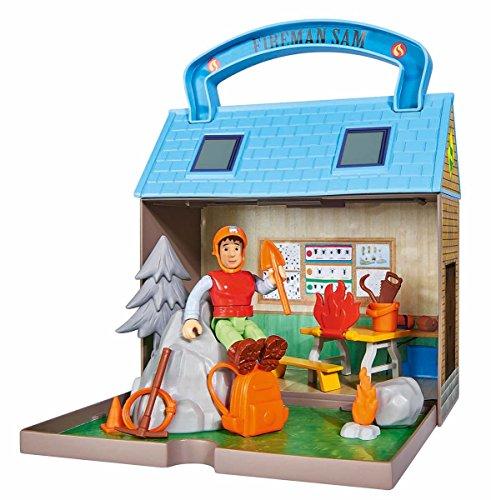 feuerwehrmann sam supermarkt Simba 109251032 - Feuerwehrmann Sam Bergrettungszentrum mit 2 Figuren