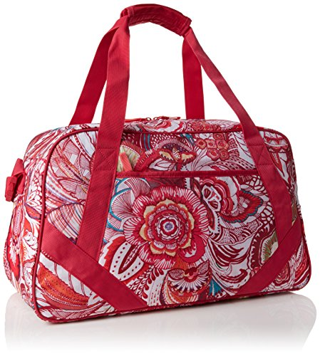Desigual BOLS_L BAG P, Borse a Tracolla Donna, Rosso (3192 Rouge RED), 24x28x38 cm (B x H x T)