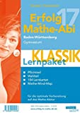 Erfolg im Mathe-Abi 2017 Lernpaket Klassik Baden-Württemberg Gymnasium: mit der Original Mathe-Mind-Map